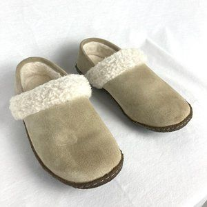 Sorel Nakiska Faux Shearling Lined Slide Slipper